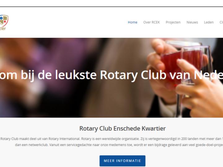 Nieuwe website RCEK